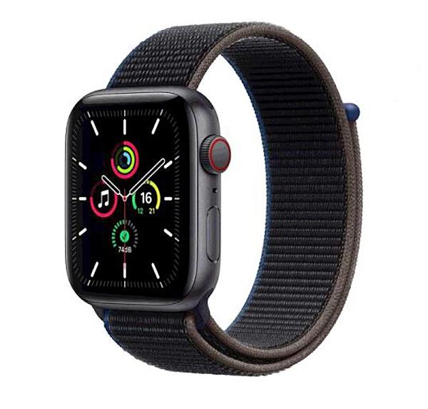 [COSCO代購] W129123 Apple Watch SE (GPS+行動網路) 44 公釐鋁金屬錶殼搭配運動型錶環