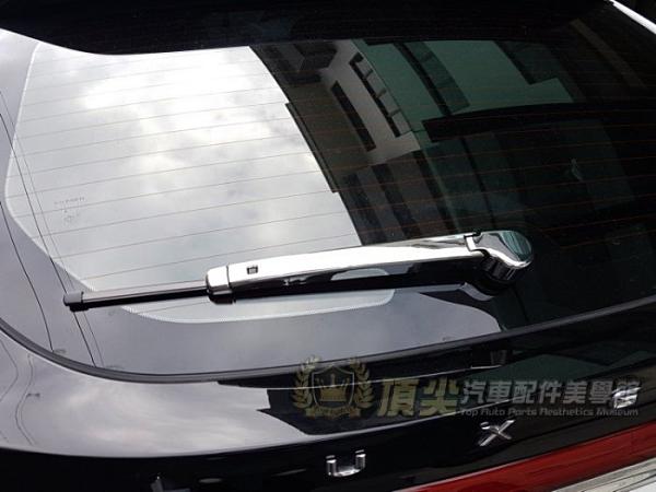 LUXGEN納智捷【U6GT/GT220後雨刷飾蓋】後擋風飾條 U6GT220專用 雨刷保護蓋 尾門銀色罩