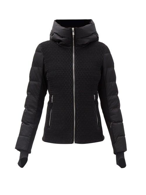 Fusalp - Roxane Panelled Quilted Down Ski Jacket - Womens - Black