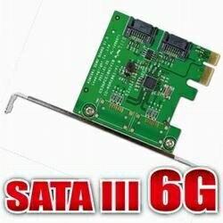 DigiFusion伽利略 PCI-E SATAIII 2 PORT 擴充卡