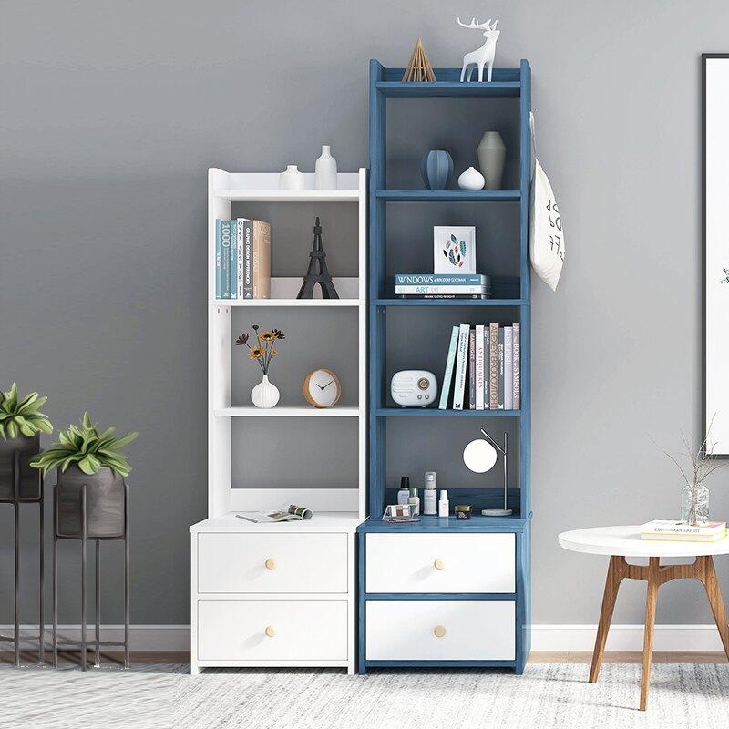 床頭櫃 床頭櫃簡約現代北歐風 ins臥室高款簡易置物架迷你小型櫃子儲物櫃 A8【全館免運 限時鉅惠】