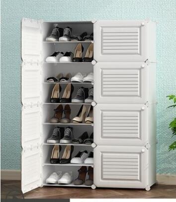 鞋櫃收納簡易經濟型防塵宿舍家用簡約現代門口置物多層組裝鞋架子