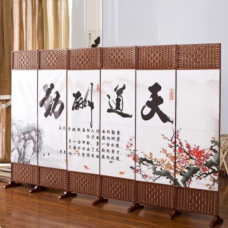 屏風 屏風隔斷牆折疊簡易移動臥室遮擋房間家用客廳簡約現代經濟型屏障