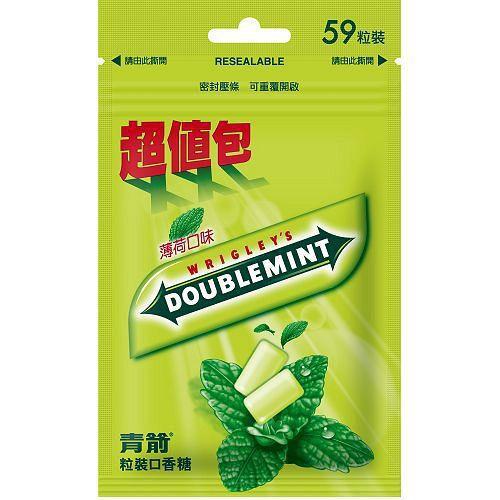 青箭粒裝口香糖超值包82.6g【愛買】