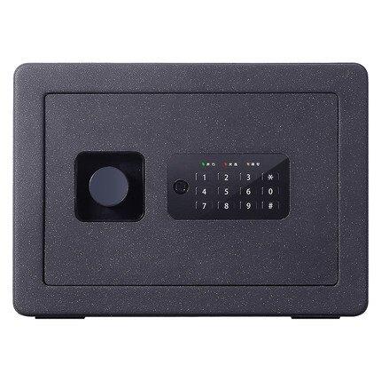 保險櫃 得力家用小型迷你指紋密碼可入牆衣櫃隱形全鋼安全防盜保險箱