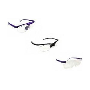【海夫健康生活館】護立康 時尚放大眼鏡 放大鏡眼鏡 三色可選 2入A款-黑色*2