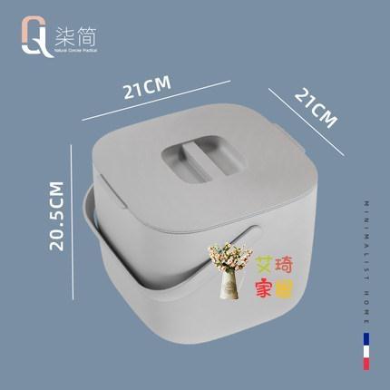 桌面垃圾桶 廚余垃圾桶家用帶蓋瀝水干濕分離廚房專用臺面桌面分類小餐廚防臭