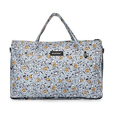 murmur 蛋黃哥 旅行收納袋 摺疊旅行袋 側背包 可插拉桿旅行袋 購物袋 (中型|完美尺寸|大型)