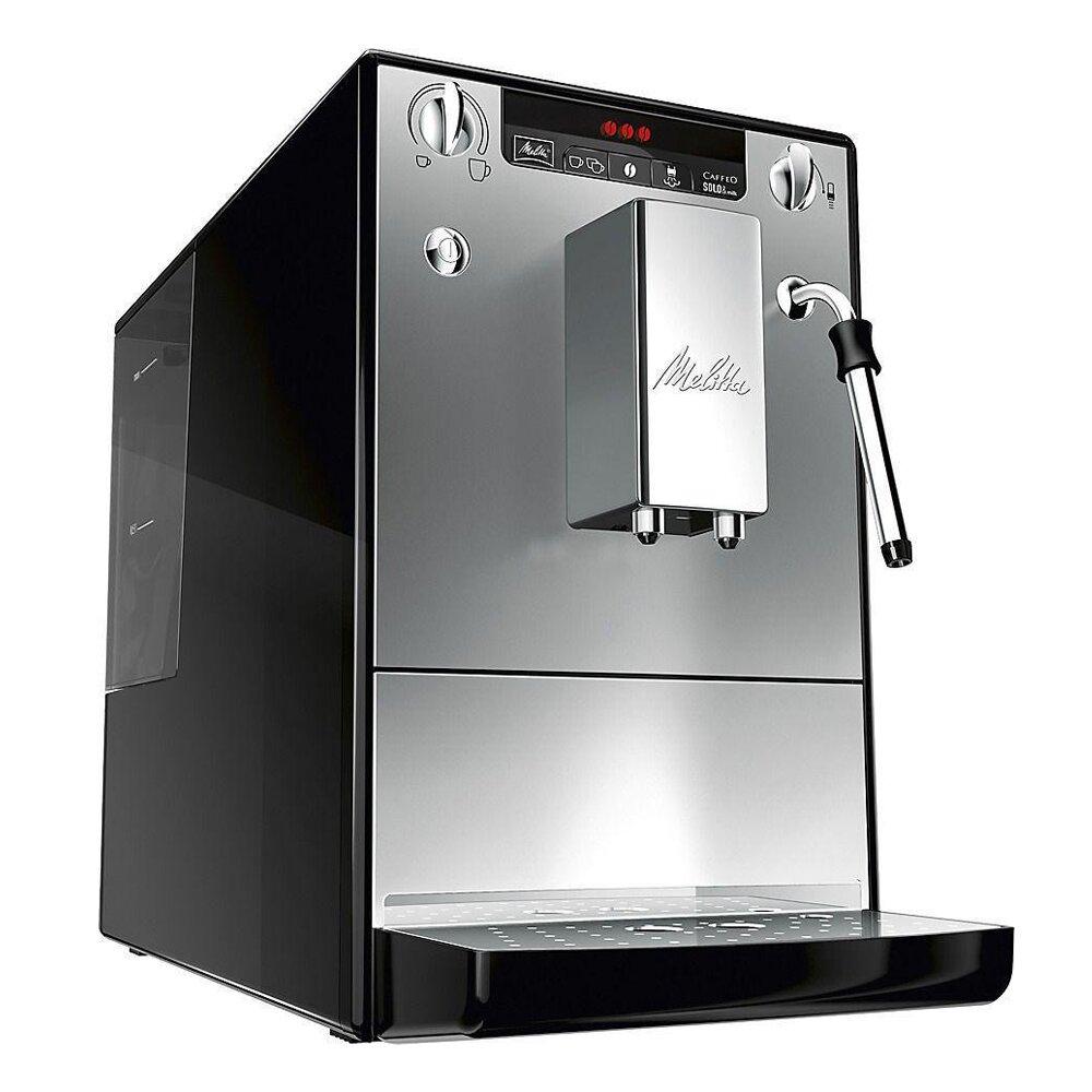 德國Melitta百年全自動咖啡機SOLO & MILK 晶鑽銀