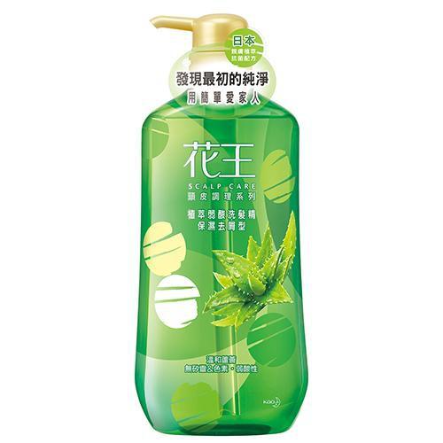 花王植萃弱酸洗髮精保濕去屑型750ml【愛買】