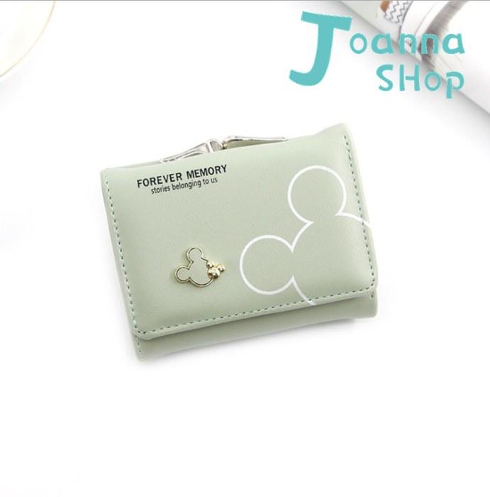 新米老鼠簡約設計零錢包短夾2-Joanna Shop