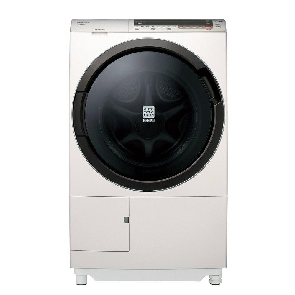日立 HITACHI 11.5公斤洗脫烘滾筒洗衣機 BDSV115EJ