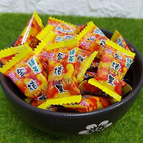 喉糖。德合記綠茶金桔果~宜蘭名產 600克 大包裝 另有200克 養生潤喉 【正心堂】