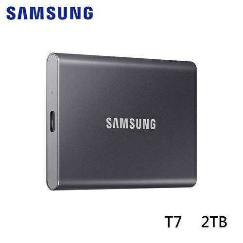 Samsung 三星 T7 外接式SSD固態硬碟 2TB 灰