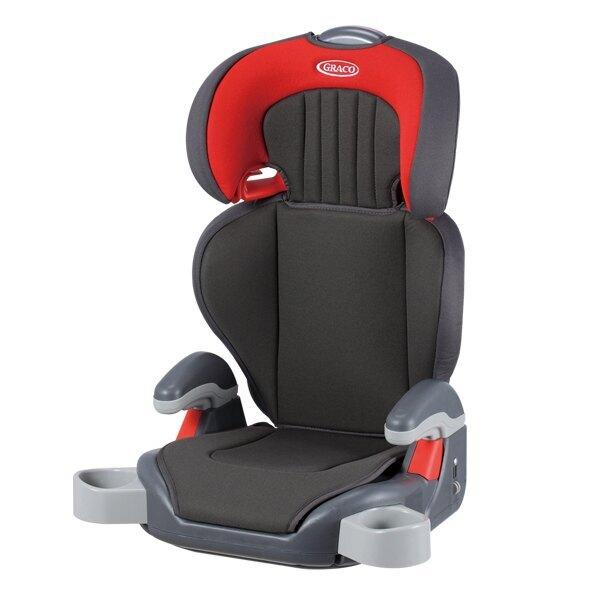 Graco Junior Maxi 幼兒成長型輔助汽車安全座椅-淘氣紅【六甲媽咪】