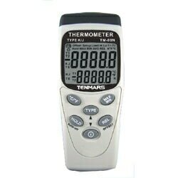 Tenmars泰瑪斯 TM-80N K/J型單輸入溫度錶