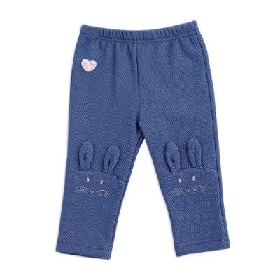 奇哥 比得兔粉紅聖誕造型九分合身褲(6個月)