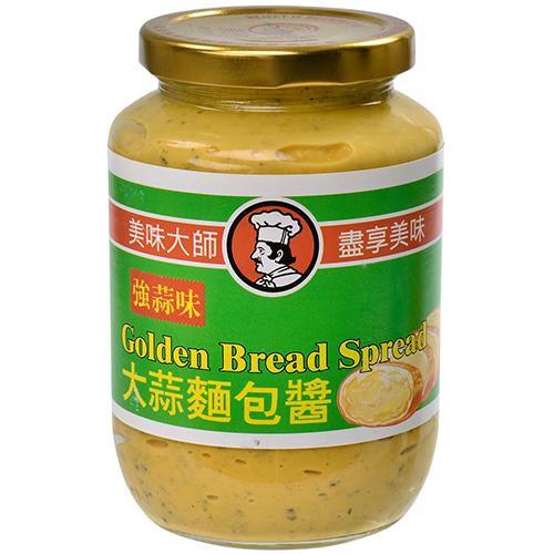 美味大師大蒜麵包醬(強蒜味)470g【愛買】