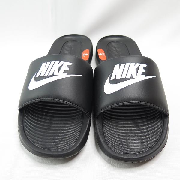 NIKE VICTORI ONE SLIDE 男款 海綿拖鞋 CN9675002 黑 大尺碼【iSport愛運動】