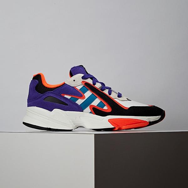 Adidas Yung-96 Chasm 男款 黑灰藍 老爹鞋 復古 休閒鞋 EF1427