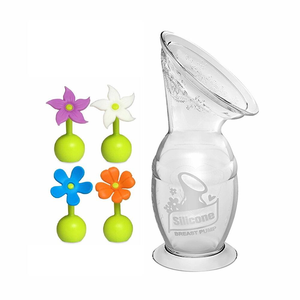 haakaa 紐西蘭真空吸力集乳器 第二代 +小花瓶塞 100ml/150ml
