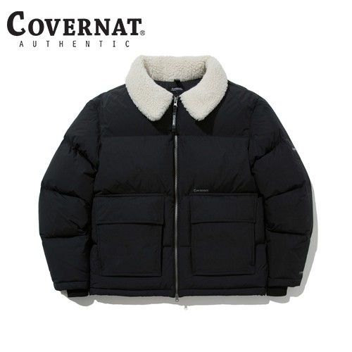 [COVERNAT] 20FW RDS CRUISER PARKA BLACK