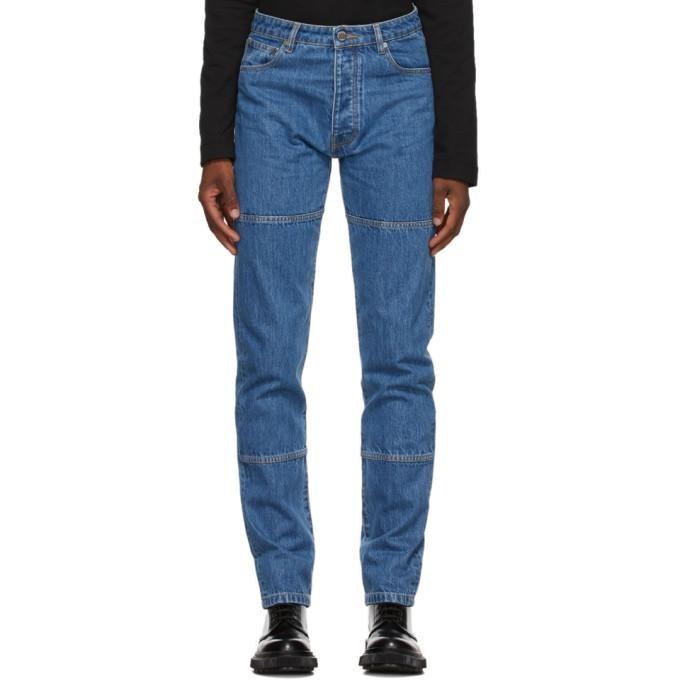 Etudes 蓝色 Georgia 有机棉牛仔裤