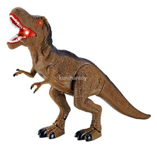 【崑山玩具x日韓精品】聲光電動恐龍/電動暴龍/聲光恐龍/逼真暴龍/仿真恐龍