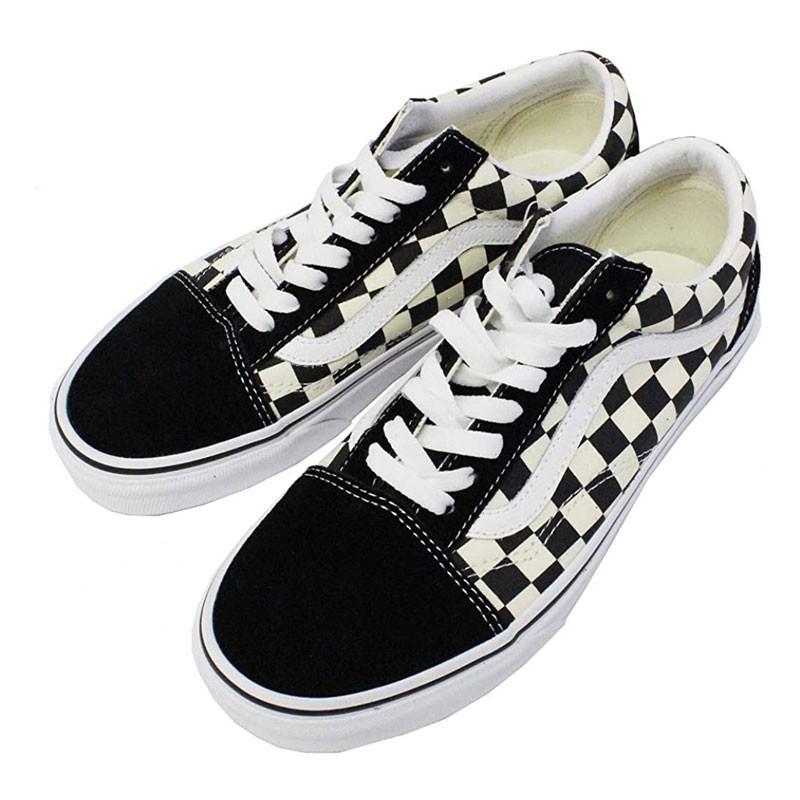 VANS - VN0A38G1P0S OLD SKOOL 麂皮 帆布鞋 / 滑板鞋 (黑白棋盤格) 化學原宿