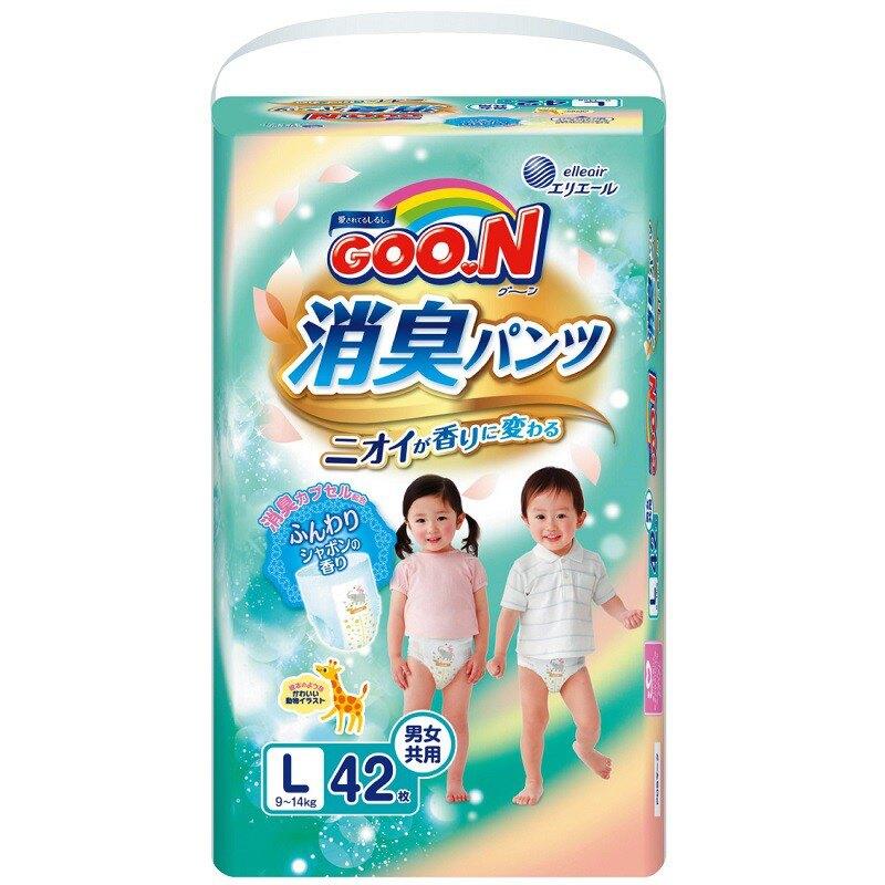 【箱購免運】大王GOO.N 日本境內版 香香褲M56 L42 XL36 一箱3包