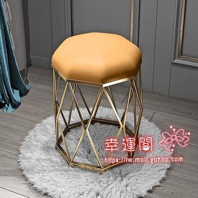 梳妝凳 現代簡約梳妝台凳子網紅化妝凳輕奢美甲椅臥室ins北歐少女餐凳子T