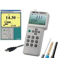 TES-1381K 電導度、酸鹼度、氧化還原電位計