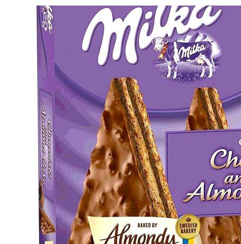 [COSCO代購] W127846 Almondy 冷凍牛奶巧克力蛋糕 980公克