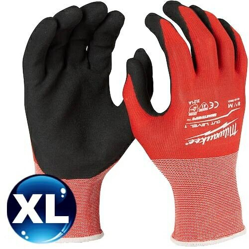 Milwaukee米沃奇 第一級認證防割手套 (XL) 48-22-8903