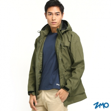 【ZMO】男防風雨風衣外套JG361 / 銅綠色 / MIT台灣製造