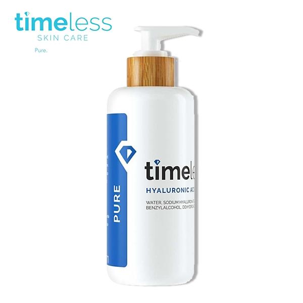 Timeless 時光永恆 高保濕玻尿酸精華液 (原玻尿酸補水保濕精華液) 240ml【巴黎丁】