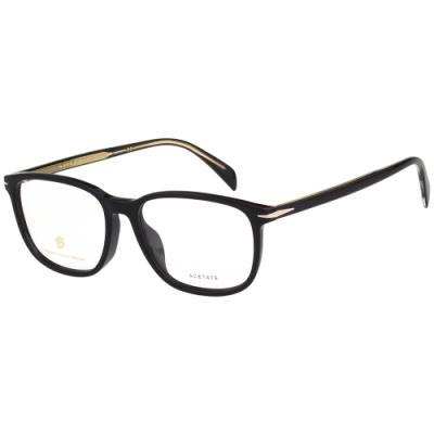 DAVID BECKHAM 貝克漢 光學眼鏡 (黑色)DB1029F