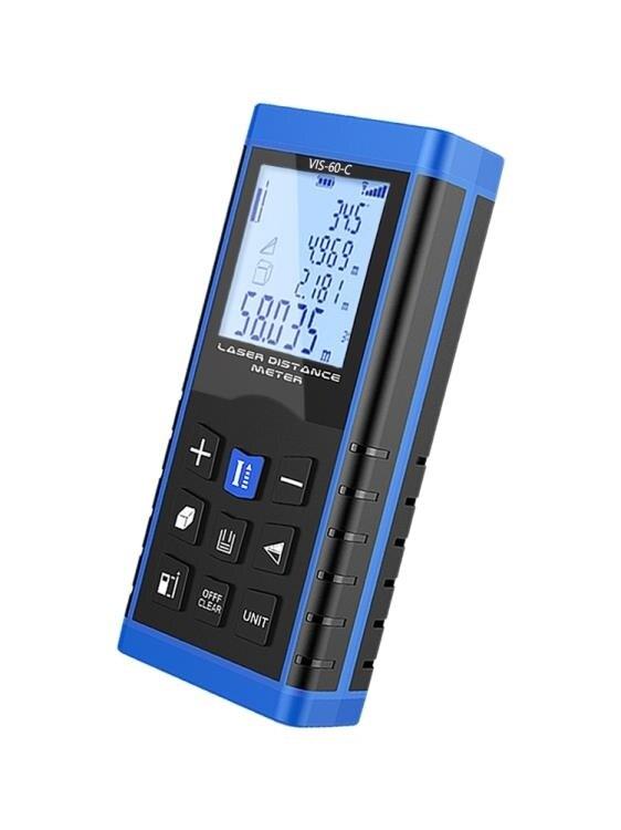 測距儀 目博士激光測距儀高精度紅外線測量儀手持距離量房儀激光尺電子尺
