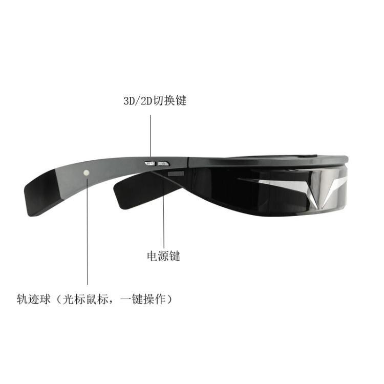 VR 高清輕便VR眼鏡一體機3D立體智能視頻眼鏡頭戴顯示器移動影院高端