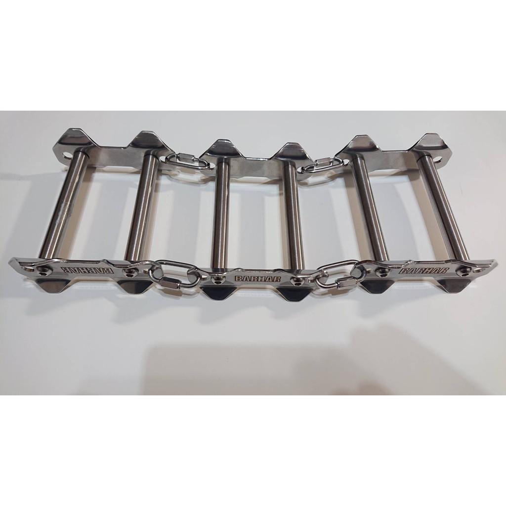 巴哈 BARHAR 三節不銹鋼繩索保護器 (不銹鋼管滾動) BS102