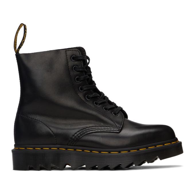 Dr. Martens 黑色 1460 Pascal Ziggy 踝靴