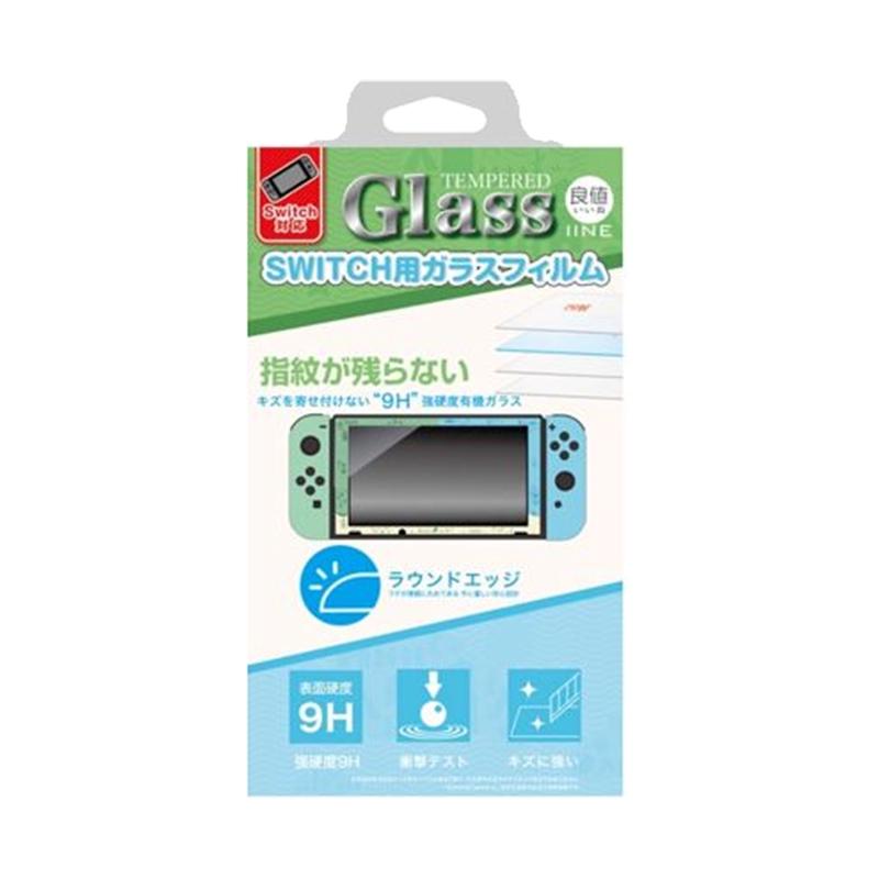 良值 NS Switch 9H 鋼化玻璃 保護貼 動森主題 L323【現貨】【GAME休閒館】