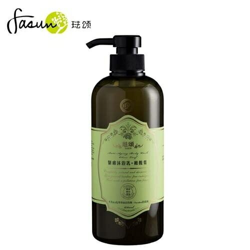 FASUN琺頌-緊膚沐浴乳-橄欖葉 650ml / 瓶 原價460,限時優惠