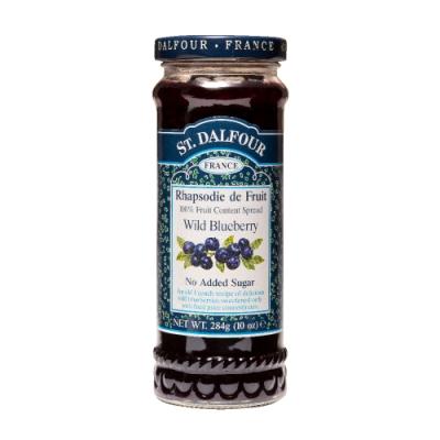 法國聖桃園野生小藍莓果醬 284g