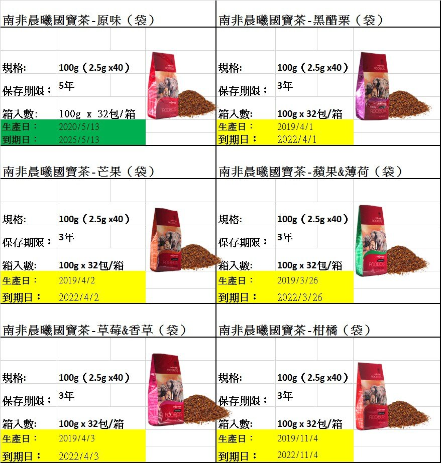 南非晨曦國寶茶 博士茶 蘋果&薄荷  Rooibos tea~40包裝  菜菜子南非代購~