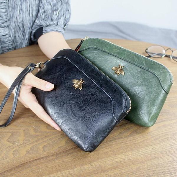 手拿包 2021新款多功能拉鍊包大容量手拿包歐美長款錢包零錢包女士手機包 伊蘿