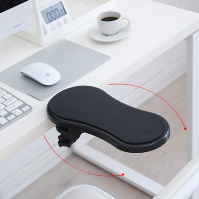 電腦桌用手臂支撐架/可180度旋轉/人體工學護臂