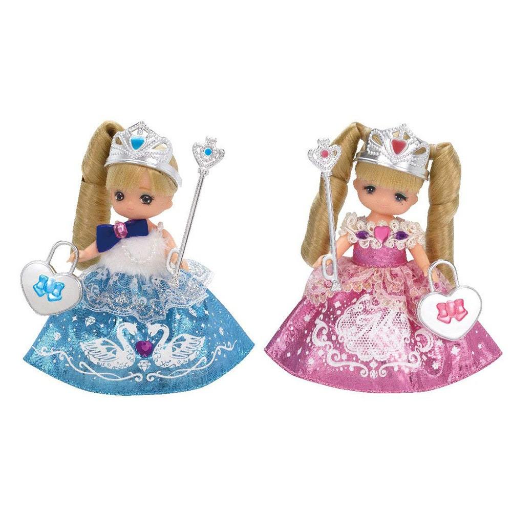 LICCA莉卡娃娃 真紀美紀公主娃娃組