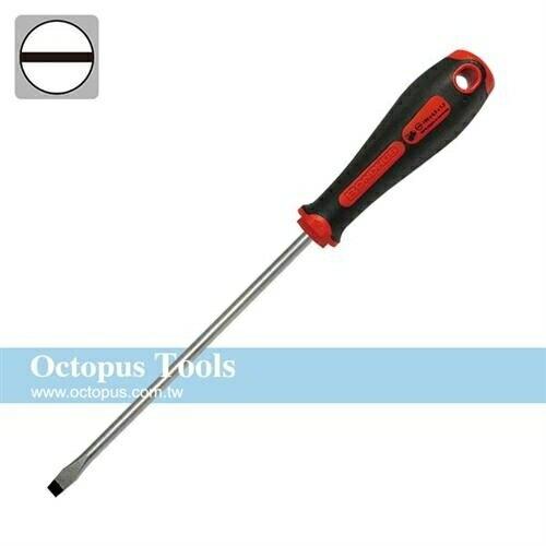 Octopus 6.5x150mm舒適吸震一字起子BONDHUS #13037 488.13037