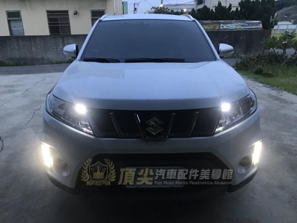 SUZUKI鈴木【VITARA車頭LED小燈-2顆】SX4小燈 vitara配件 直上 白光燈泡 暖白光